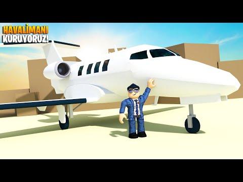✈️ Devasa Havalimanımızı Kuruyoruz! ✈️ | Airport Tycoon | Roblox Türkçe
