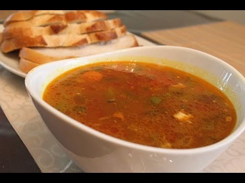 Easy Indian Recipes – Indian Style Chicken Soup