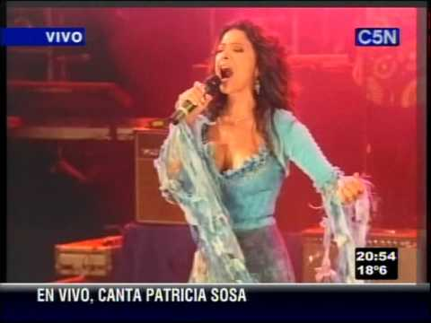 Festejos por el Bicentenario. Patricia Sosa: Si bastaran un par de canciones.