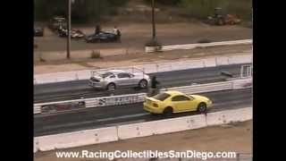 2013 Ford Mustang 5.0 Drag Racing Barona Drag Strip 11-17-2012