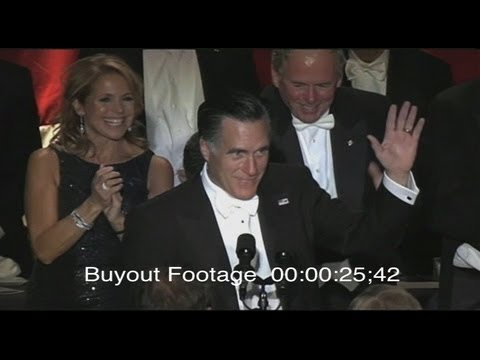 Stock Footage Romney and Obama Comedy Night!