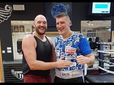 Mariusz Wach o sparingach z Tysonem Furym