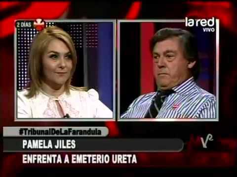 Emeterio no deja hablar a Pamela Jiles que quiere defender a Marisela por altercado