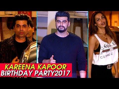 Kareena Kapoor Birthday Party 2017 | Arjun Kapoor,