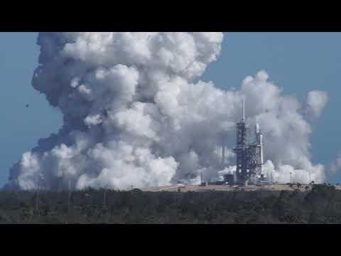01/24/2018 - Falcon Heavy Test Fire Finally
