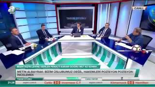 """Erman Toroğlu, """"Trabzonspor takımı toplansın, biz bu şartlarda oynamıycaz desin bak ne oluyor."""""""