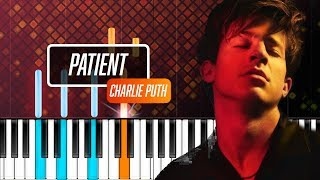 """Video Charlie Puth - """"Patient"""" Piano Tutorial - Chords - How To Play - Cover MP3, 3GP, MP4, WEBM, AVI, FLV Juni 2018"""