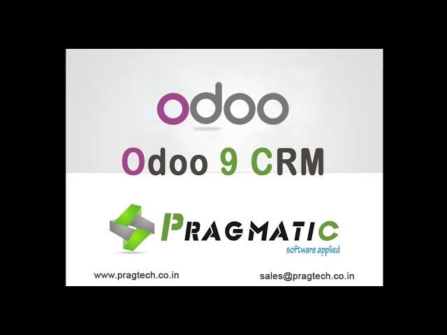 Odoo 9 CRM