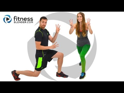 Day 3: Free 5 Day Workout Challenge for Busy People / Fat Burning HIIT Cardio and Abs