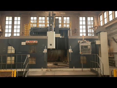 CNC Vertical Turret Lathe YOU JI MACHINE INDUSTRIAL CO. VTL-4500 ATC+C 2015