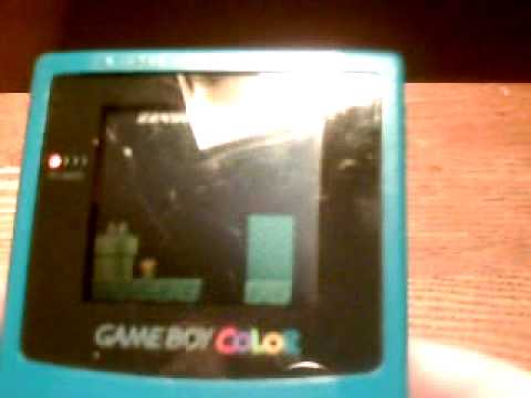 super mario bros deluxe game boy colour