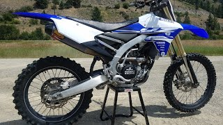 2. Refurbishing A Trashed 2015 Yamaha YZ250f