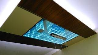 Download Video LED Infinity Mirror Ceiling MP3 3GP MP4