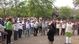 Bellary India  City new picture : Laughter Yoga Session at Bellary Park, Karnataka, India