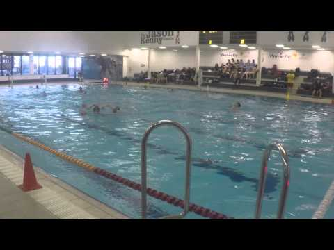 U15s in action in ESSA Water Polo Finals