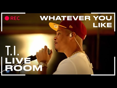 "T.I. - ""Whatever You Like"" Captured From The Live Room"