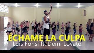 Video Échame La Culpa - Luis Fonsi, Demi Lovato - Coreografia l Cia Art Dance l  Zumba® MP3, 3GP, MP4, WEBM, AVI, FLV Maret 2018