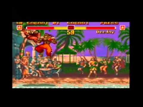 genesis super street fighter ii - the new challengers (japan)
