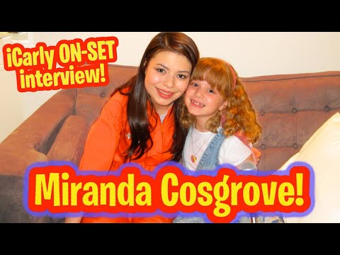 iCARLY MIRANDA COSGROVE INTERVIEW w Professional KID ENTERTAINMENT REPORTER PIPER REESE!