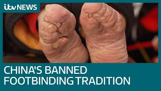 Download Video Banned practice of foot binding blighting China's oldest women | ITV News MP3 3GP MP4