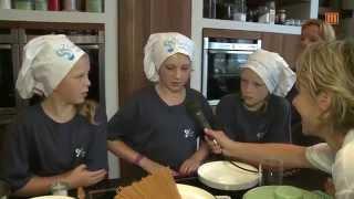 Kochen mit Kindern - zu Besuch in der Sarah Wiener Stiftung Berlin