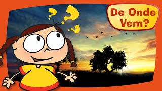 Kika quer saber de onde vem o dia e a noite.Kika descobre que a Terra completa uma volta em torno dela mesma em 24 horas criando o dia e a noite com o movimento de rotação, e completa uma volta em torno do sol em 1 ano, com o movimento de translação.Inscreva-se no canal!https://www.youtube.com/c/DeOndeVemDe Onde Vem é uma produção da TV PinGuim, dos mesmos criadores de Peixonauta e O Show da Luna.
