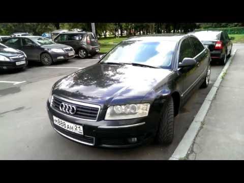 Audi A8 Тест драйв Audi A8 D3 quattro видео обзор 2013