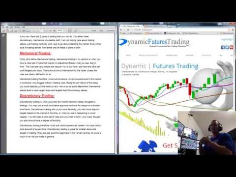 Non discretionary trading strategies