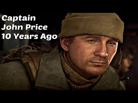 Call of Duty Modern Warfare 4 - Young Captain Price 10 Years Ago Gameplay (CoD MW 2019) PS4 Pro