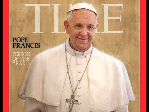 Pope Francis is TIME's 'Person of the Year' 2013