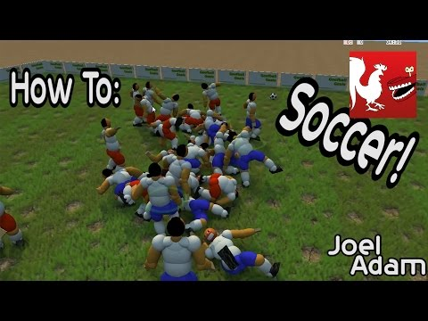 how to - Joel & Adam show you how to play soccer by running off a cliff. RT Store: http://roosterteeth.com/store/ Rooster Teeth: http://roosterteeth.com/ Achievement Hunter: http://achievementhunter.com...