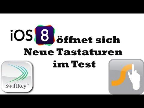 iOS 8 öffnet sich - Neue Tastaturen im Test (Swype, SwiftKey)