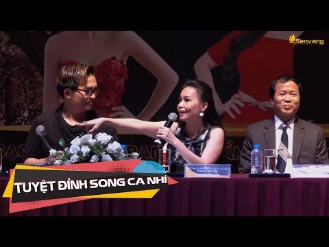 Cẩm Ly, Thu Trang bị Đại Nghĩa 'dìm hàng' trong họp báo Tuyệt đỉnh song ca nhí