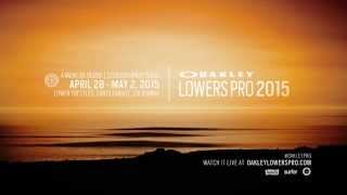 After a two-year hiatus, the Oakley Lowers Pro QS 10000 event is back in action, with the most competitive surfers in the world...