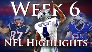 Week 6 NFL Highlights by Joseph Vincent