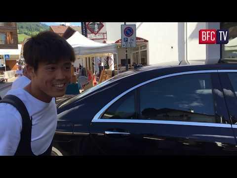 L'arrivo di Takehiro Tomiyasu