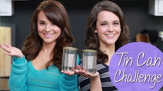 I got a lot of requests to do the Tin Can Challenge with my sister Mo! Let us know down below what other videos you would like to ...