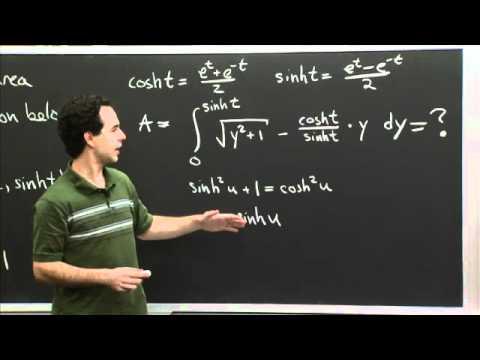 Hyperbolic Trig Sub | MIT 18.01SC Single Variable Calculus, Fall 2010