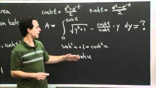 Hyperbolic Trig Sub | MIT 18.01SC Single Variable Calculus, Fall 2010
