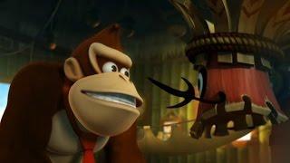 Donkey Kong Country Returns 100% Walkthrough Part 1 - World 1:...
