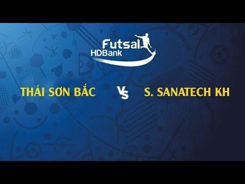 Trực tiếp | Thái Sơn Bắc - S. Sanatech KH | VCK Futsal VĐQG HD Bank 2019 - Thời lượng: 1 giờ và 33 phút.