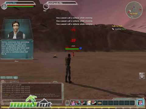 Star Wars Galaxies Gameplay Footage