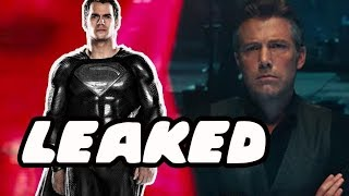 Video How Superman Returns In Justice League Leaked! Black Suit Superman Confirmed! MP3, 3GP, MP4, WEBM, AVI, FLV Maret 2018