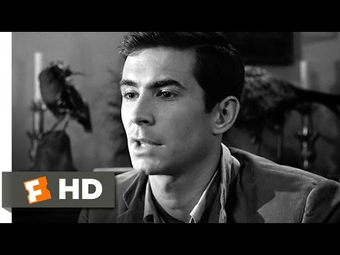 psycho - Psycho Movie Clip - watch all clips http://j.mp/AakYN0 click to subscribe http://j.mp/sNDUs5 Norman (Anthony Perkins) debates sending his mother to the