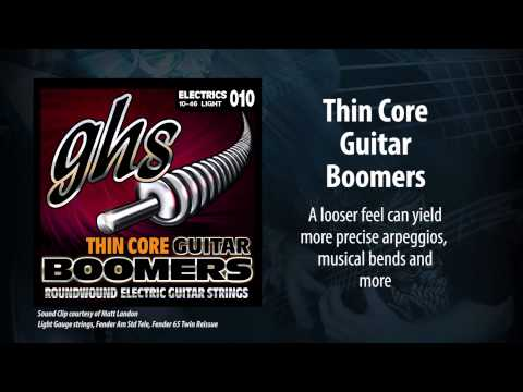 GHS Strings - Thin Core Boomers