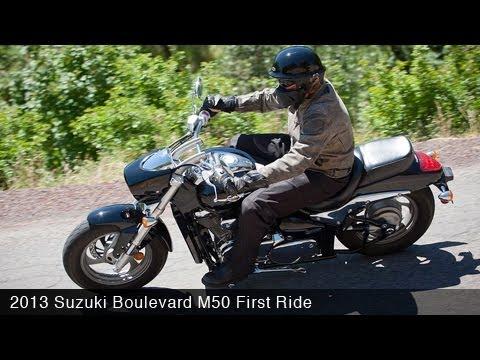 2013 Suzuki Boulevard M50 First Ride – MotoUSA