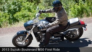 6. 2013 Suzuki Boulevard M50 First Ride - MotoUSA
