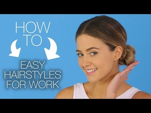 EASY HAIRSTYLES FOR WORK | HOW TO HAIR TUTORIAL