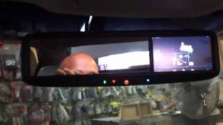 Custom motorized tablet installed and system on a Camry