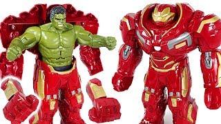 Video Red Hulk is angry! Go! Marvel Avengers Infinity War Hulk in Hulkbuster armor! - DuDuPopTOY MP3, 3GP, MP4, WEBM, AVI, FLV Juni 2018